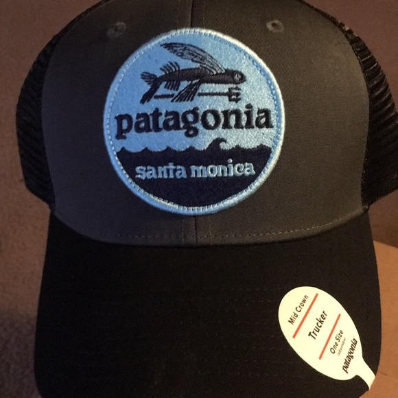 8c43381060377 NEW Patagonia Trucker Hat Santa Monica. NEW!
